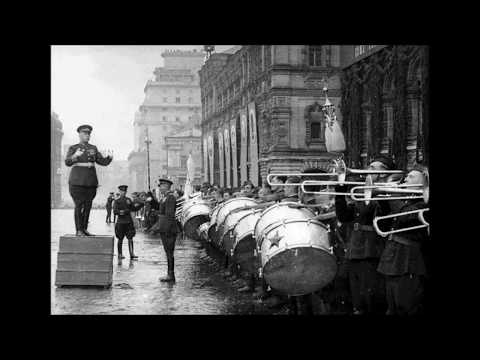 """Russian march"" (Semeon Tchernetsky, 1945) / Русский марш (Семён Чернецкий)"
