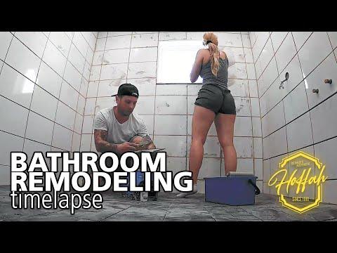 Bathroom Remodeling Timelapse by HoffaH