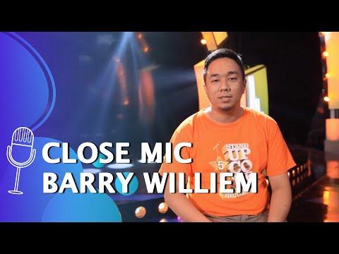 close mic barry williem flashback perjalanan barry selama mengikuti suci