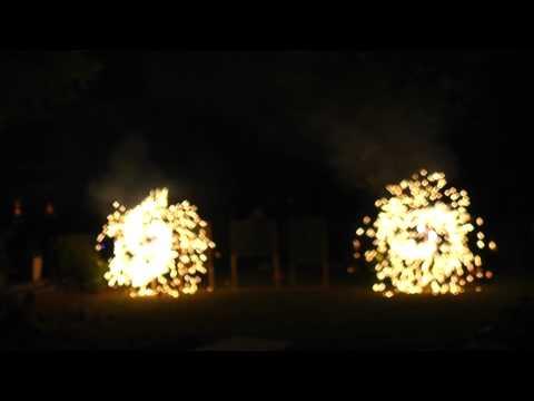 Feuerwerk Pyro-Team Berlin - Feuerwerk Hochzeit 16.06.18 Hotel Teikyo