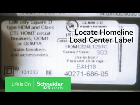 HOM612L100SCP - LOADCTR HOM MAIN LUGS 100A 1PH 6 SPACE ... on