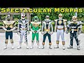 FOREVER SERIES: Silver Ranger and Spectacular Sixes Morphs [Power Rangers]