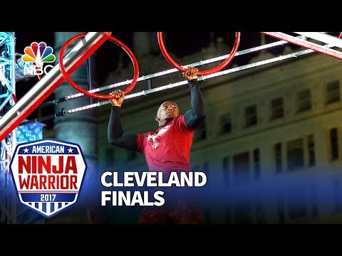 Najee Richardson at the Cleveland City Finals - American Ninja Warrior 2017