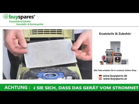 Anleitung: Universal Staubsaugerfilter richtig zuschneiden