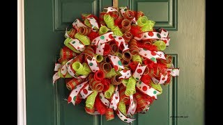 6 Deco Mesh Wreath Ideas