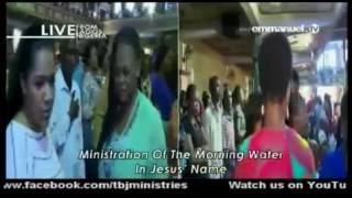 Prophet Tb Joshua Ministering Prayer And Deliverance Live