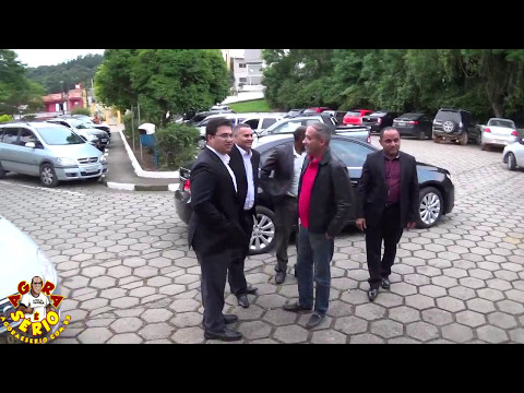 Vereador Marciano recepciona o Deputado Estadual Rodrigo Moraes do DEM em Juquitiba