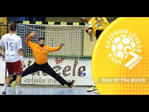 Man of the match: Ivan Pesic (Celje PL vs Meshkov Brest)