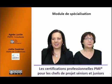 Certifications professionnelles PMI 1/7