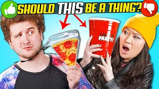 College Kids Try The Craziest College Products | Should This Be A Thing?