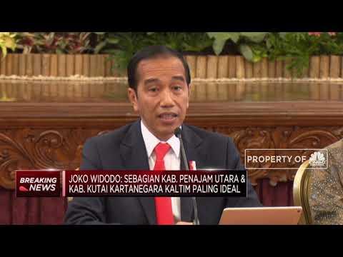 Presiden Jokowi : Ibu Kota Baru di Penajam Paser Utara & Kutai Kertanegara, Kaltim