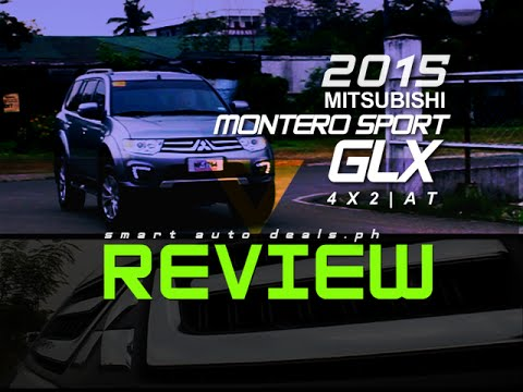 2015 Mitsubishi Montero Sport GLX 4X2 Review | PHILIPPINES