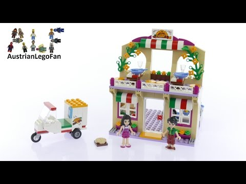 Vidéo LEGO Friends 41311 : La pizzeria d'Heartlake City