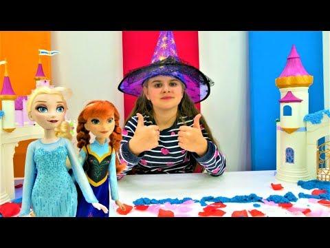 Мультики для девочек - Эльза украшает замок - Принцессы Диснея видео