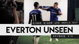 EVERTON UNSEEN #15: DIGNE SIGNS & MEDIA DAY