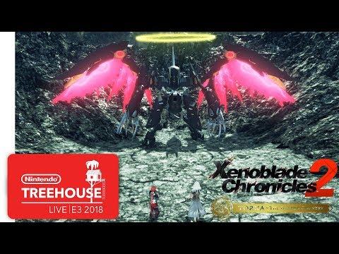 Xenoblade Chronicles 2: Torna ~ The Golden Country – Nintendo Treehouse: Live | E3 2018