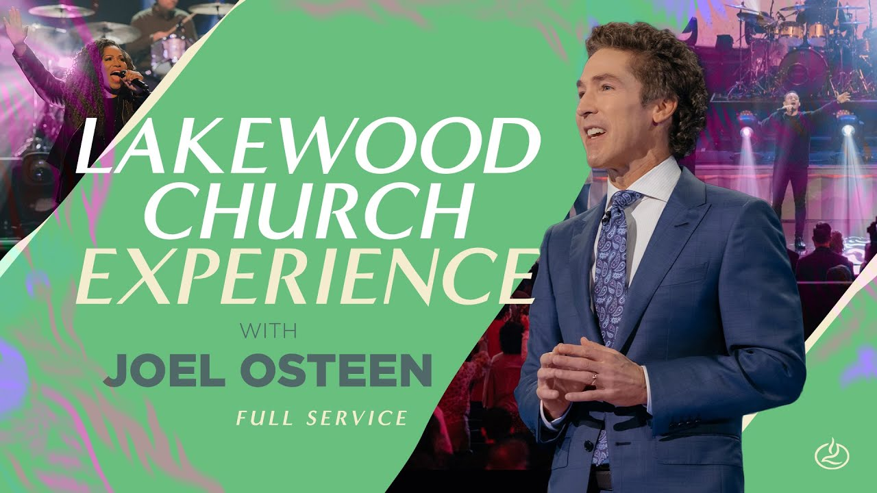 Lakewood Sunday Live Experience 11th April 2021 with Joel Osteen