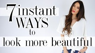 7 Ways To INSTANTLY Look BEAUTIFUL! *real tricks*