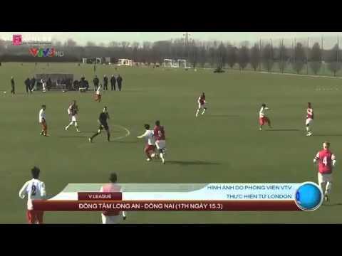 Video bàn thắng: U19 Việt Nam 3-0 U19 Arsenal