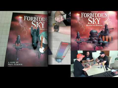 Review of Forbidden Sky by Matt Leacock, Published by Gamewright