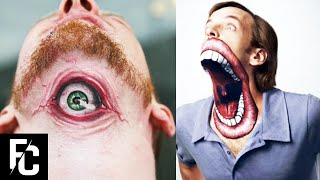 10 CRAZIEST TATTOOS People Had The Guts To Get | LIST KING