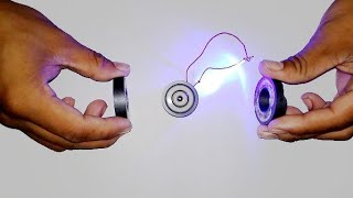 HOW TO MAKE A FREE ENERGY MAGNETS POWER WITH DC MOTOR AND LED LIGHT POWER AT HOME