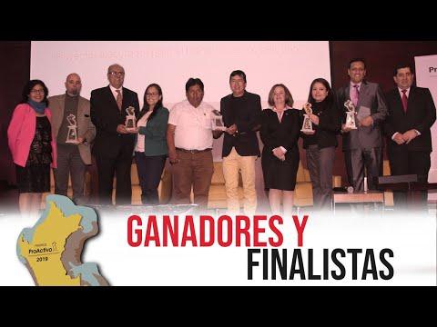 #PremiosProActivo 2019 | Gala de Premiación - Ganadores y Finalistas