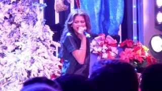 "Zendaya ""Only when you're Close"" live at Universal City Walk 12/17/13"