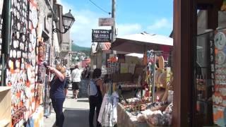 Combarro, hórreos, albariño, y comidas típicas de las Rias Baixas en Galicia