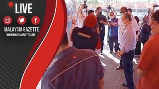 MGTV LIVE : Muhyiddin Yassin Melawat Pusat Pemberian Vaksin Dewan Muafakat Bukit Gambir,Tangkak