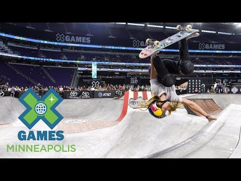 Brighton Zeuner wins Women's Skateboard Park gold | X Games Minneapolis 2017