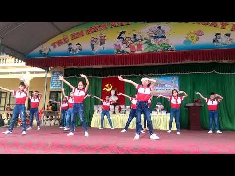 Dân vũ khối lớp C - Ngày hội văn hóa trường học TH Đồng Doãn Khuê