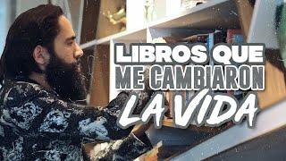 LIBROS QUE ME CAMBIARON LA VIDA | CARLOS MUÑOZ