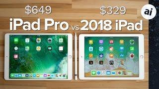 2018 iPad vs 2017 10.5