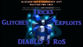 Diablo 3 RoS - Tricks, Glitches and Exploits (English)
