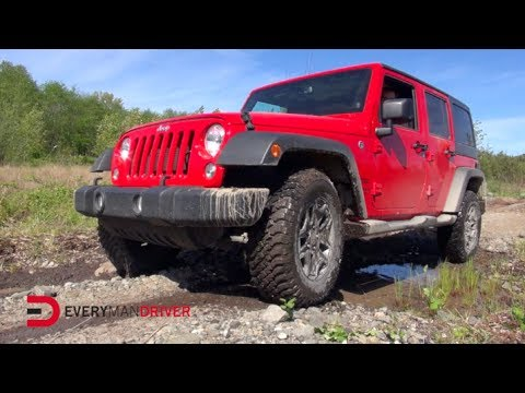 Off-Road: 2014 Jeep Wrangler with Andrew Comrie-Picard on Everyman Driver