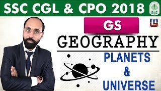 Geography | Planets & Universe | General Studies | SSC CGL | CPO 2018