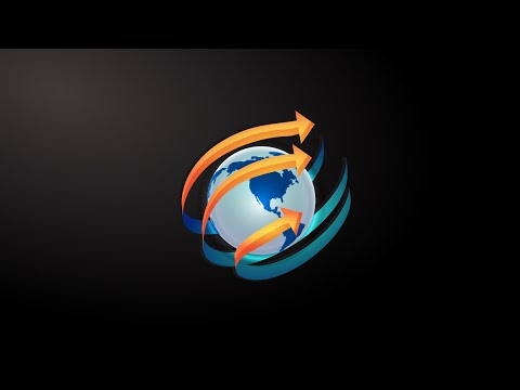 CorelDraw – How To Make a 3D Earth Globe Logo Design in Corel Draw
