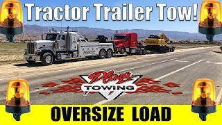 """Oversize Load Tow! ~150,000 Pounds 