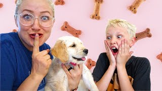 Surprising Our Kids With A Puppy!
