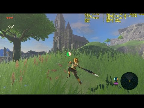 Cemu 1,7,4 | Zelda ∙ Breath of the Wild | 4K 30fps