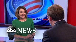 Pelosi says Democrats are