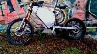 E-bike 4kW Электровелосипед Evel Superbike 4кВт