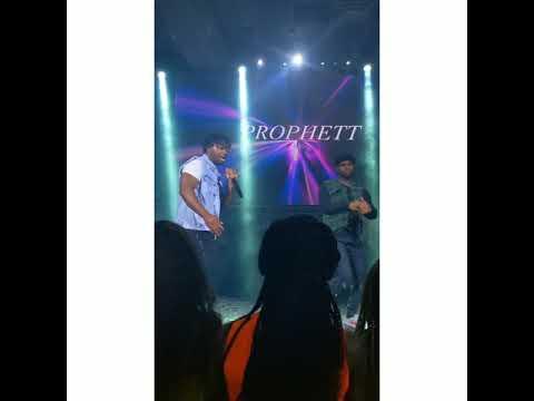 Prophett performs at Mayorkun Live in Toronto