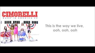 Cimorelli - The Way We Live (lyrics)