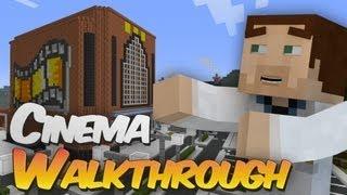 Full Working Cinema in Minecraft Walkthrough - Redpower, Computercraft & Tekkit Creation