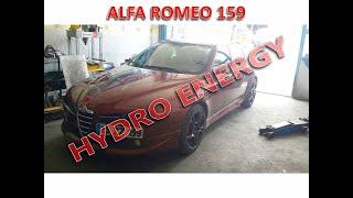 Alfa Romeo 159 hidrojen yakıt tasarruf sistem montajı