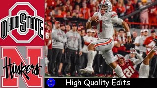 #5 Ohio State vs Nebraska Highlights | NCAAF Week 5 | College Football Highlights