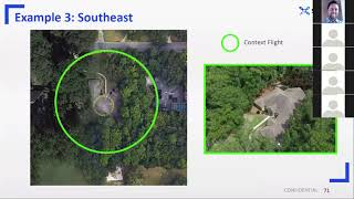 Flying Drones Around Trees: Project Examples