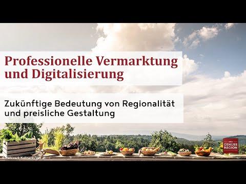 Künftige Bedeutung von Regionalität und preisliche Gestaltung